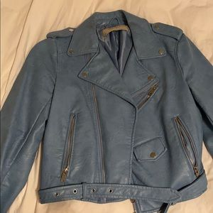 Zara baby blue jacket
